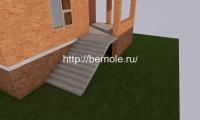 Фасадка сзади дома
