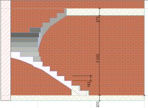 3д-проект лестницы